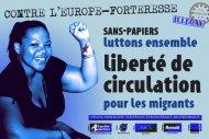 Une seule solution : la liberté de circulation pour les migrant-e-s
