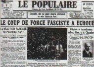 6 Février 1934 - 6 Février 2012 : Non à l'extrême droite !