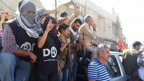 Anarquistas na luta contra o ISIS
